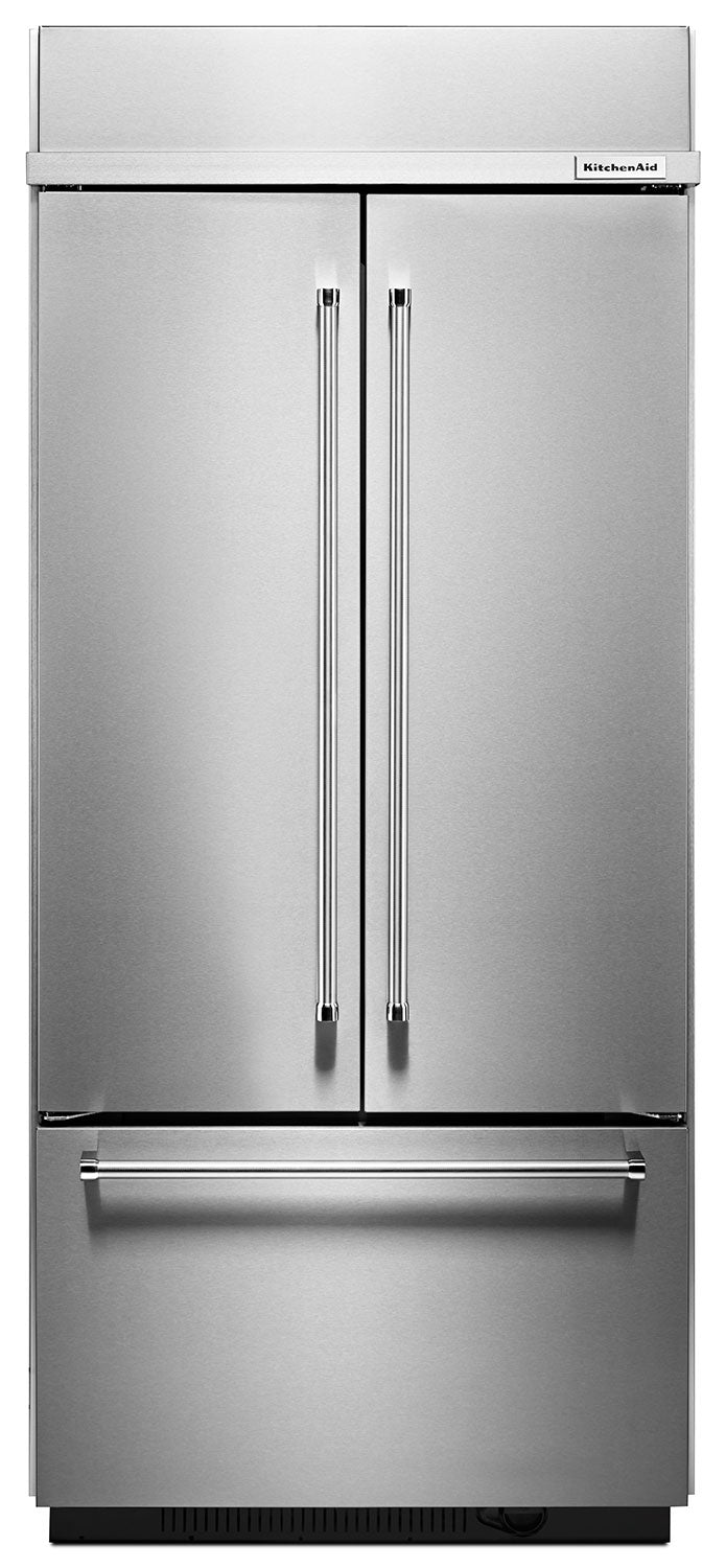 KitchenAid Stainless Steel French Door Refrigerator (20.8 Cu. Ft.) - KBFN406ESS
