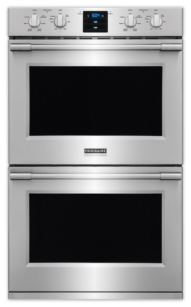 Frigidaire Professional Stainless Steel Convection Double Wall Oven 10.2 Cu. Ft.) - FPET3077RF