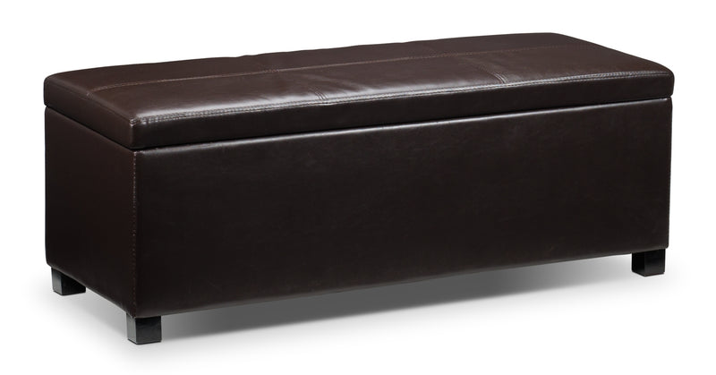 Tobin 3-Piece Ottoman - Chocolate