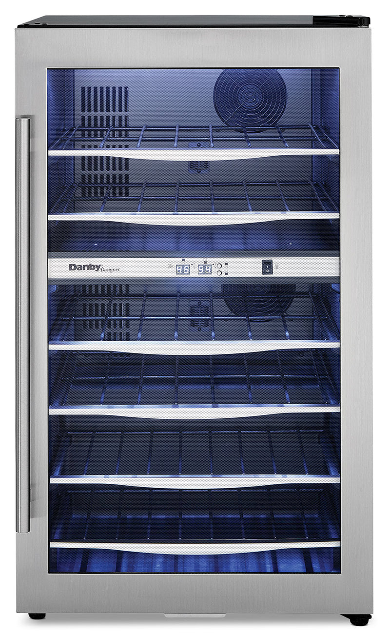 Danby Designer 4.0 Cu. Ft. 38-Bottle Wine Cooler - DWC040A3BSSDD