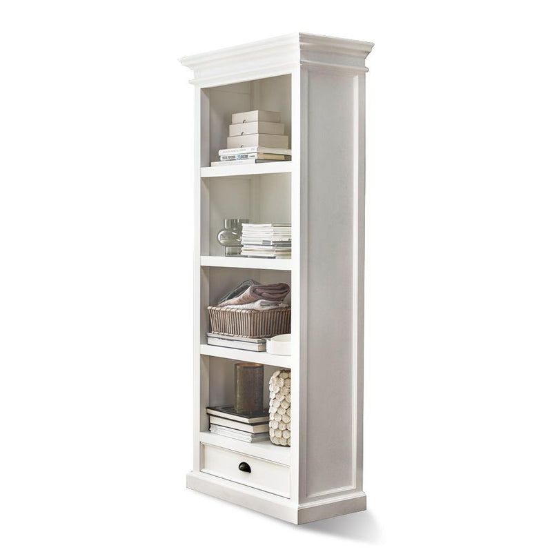Bari Bookcase with 1 Drawer
