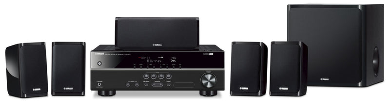 Yamaha YHT-1840 5.1-Channel Home Theatre System
