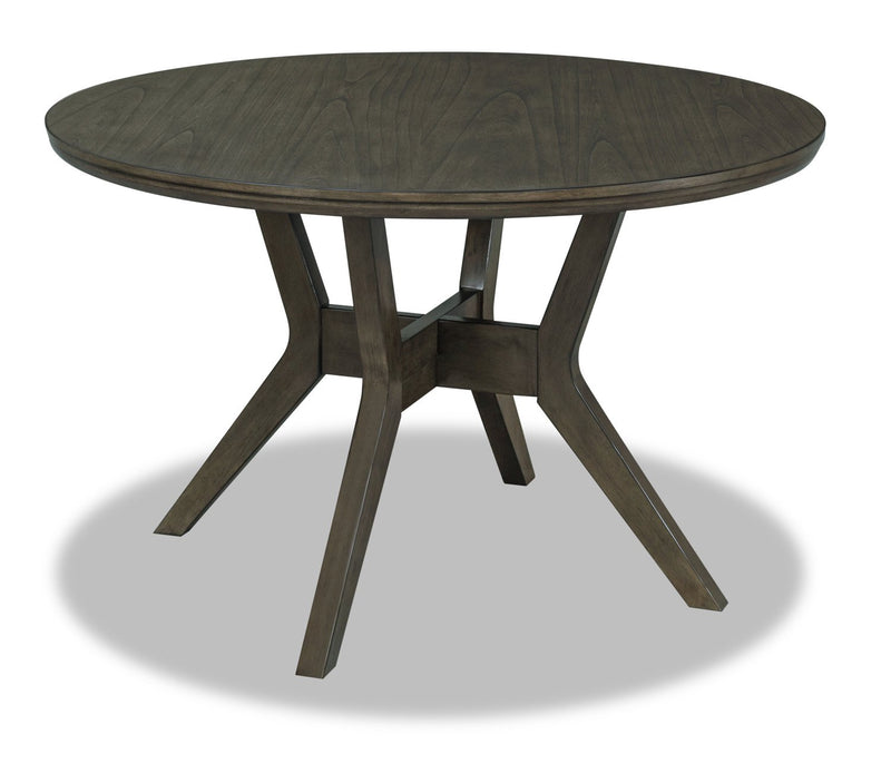 Hillview Round Dining Table - Grey