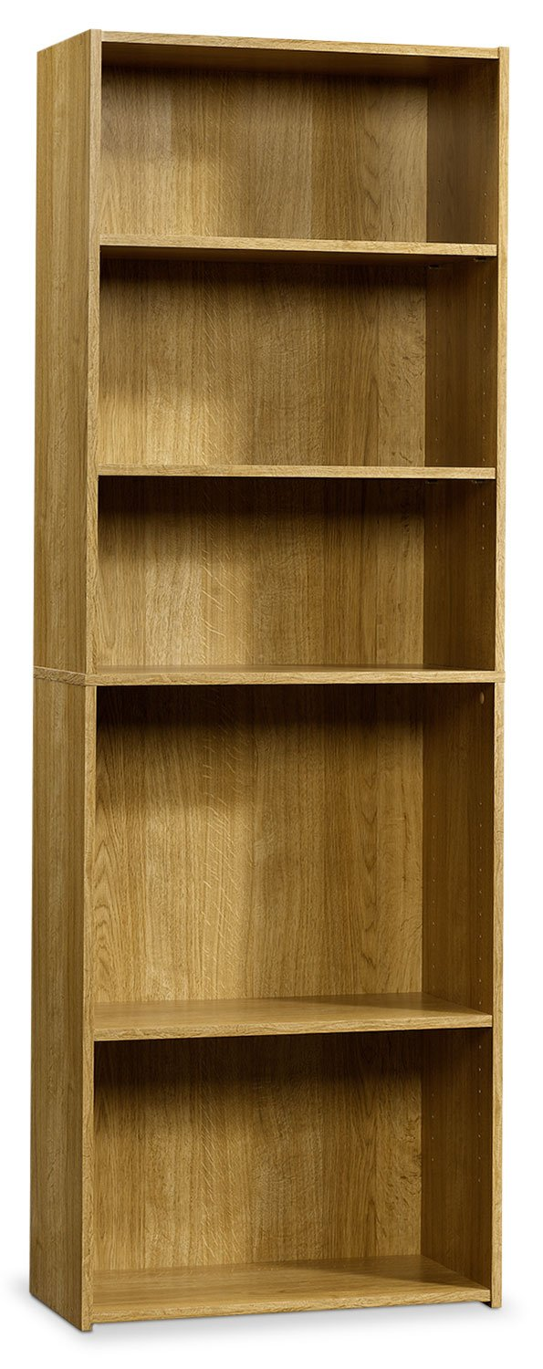 Currow 3-Shelf Bookcase - Highland Oak