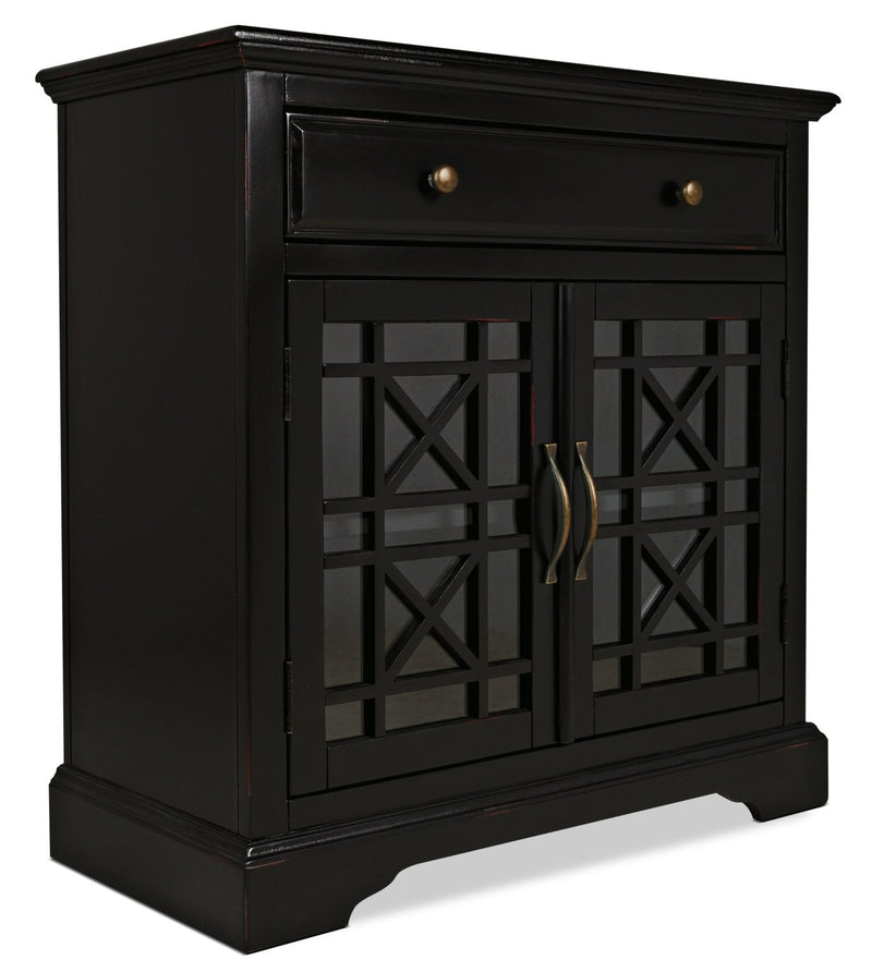 Marseille Accent Cabinet – Black