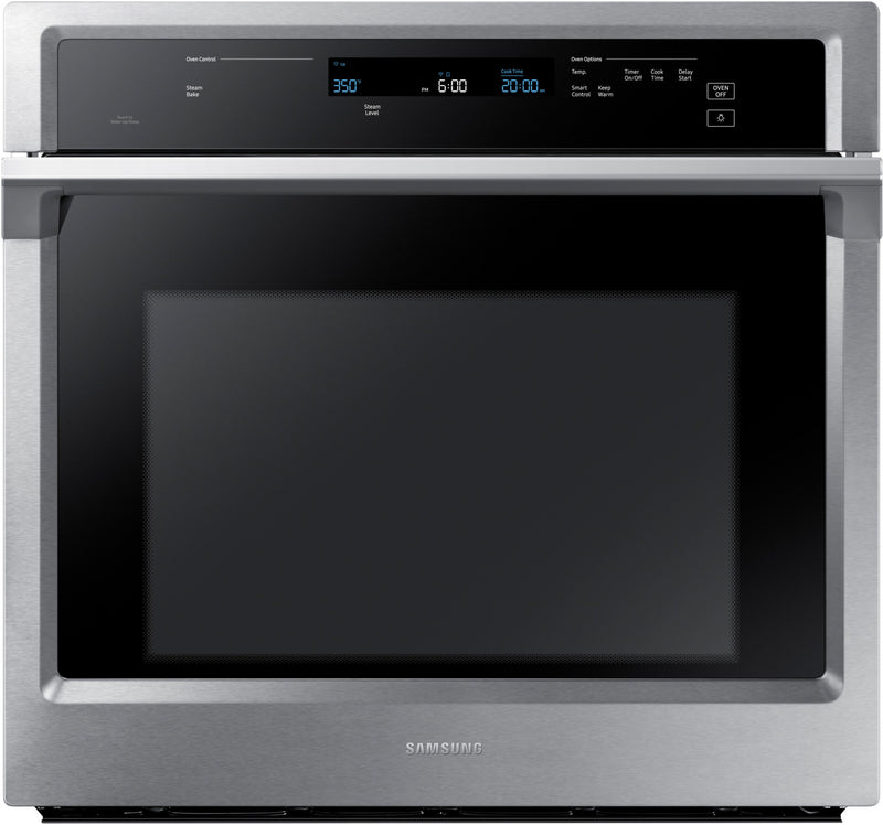 Samsung Stainless Steel Electric Dual Convection Wall Oven (5.1 Cu. Ft.) - NV51K6650SS/AA