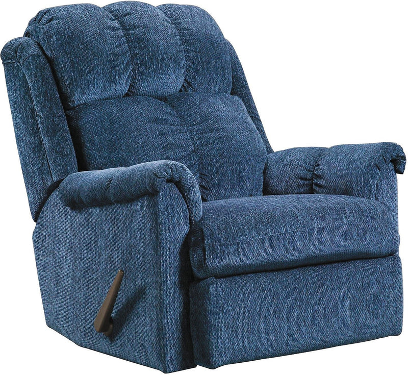 Fareham Rocker Recliner - Navy