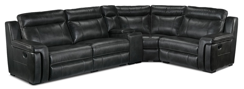 Ripon 5-Piece Reclining Sectional - Grey