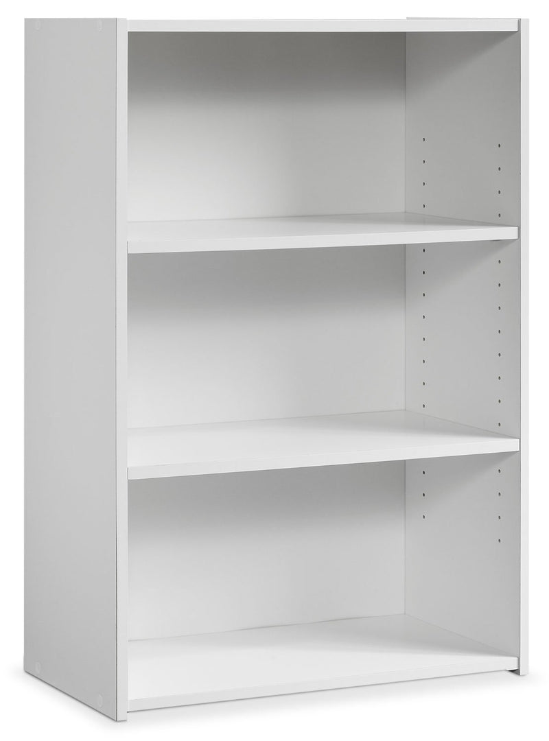 Currow 2-Shelf Bookcase - White
