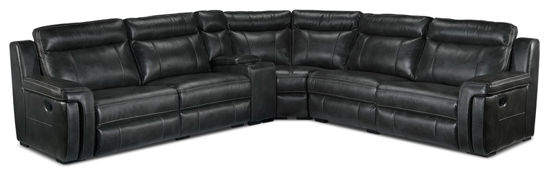 Ripon 6-Piece Reclining Sectional - Grey