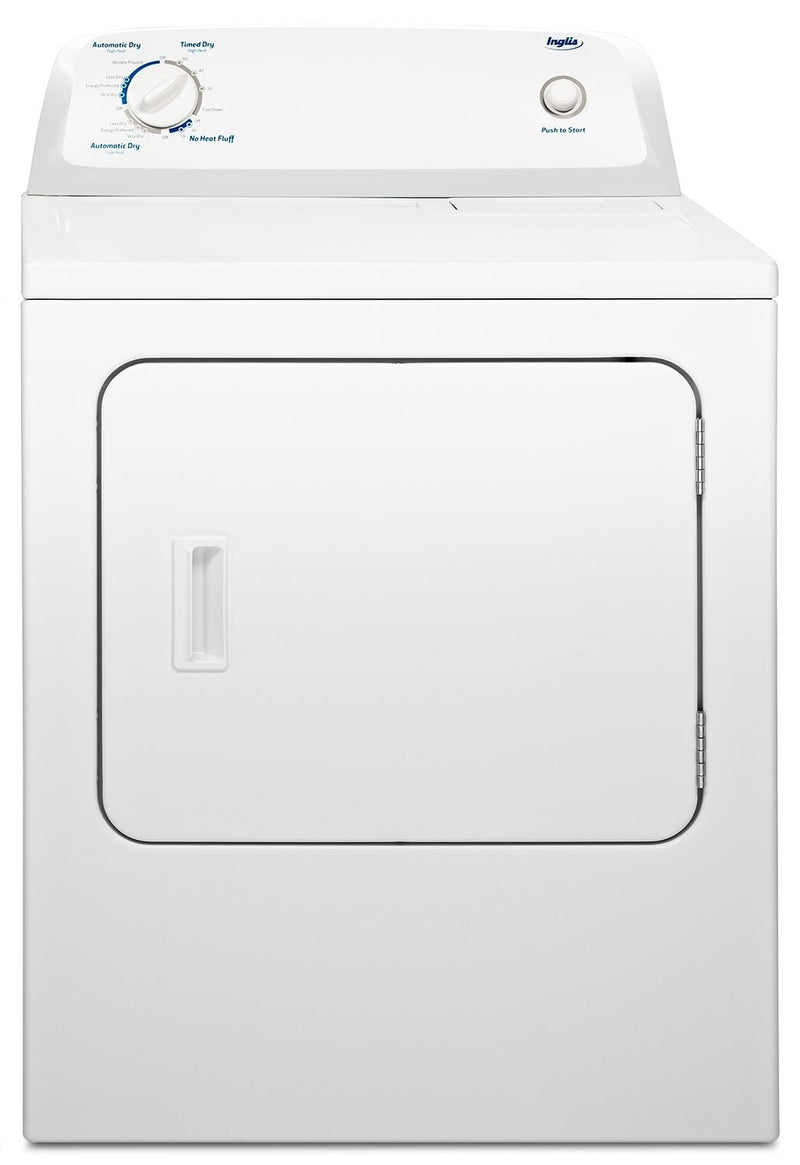 Inglis 6.5 Cu. Ft. Electric Dryer with Automatic Drying Control – YIED4671EW