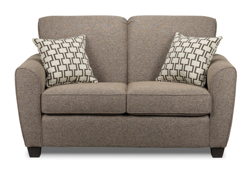 Orson Loveseat - Brown