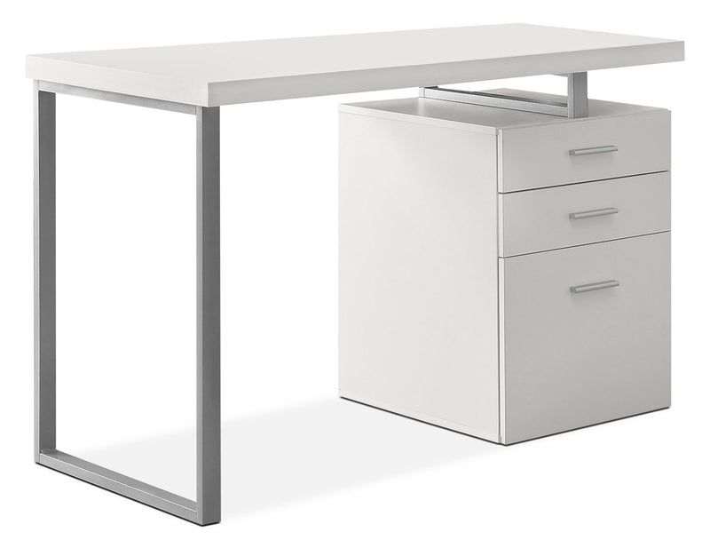 Hemet Computer Desk - White
