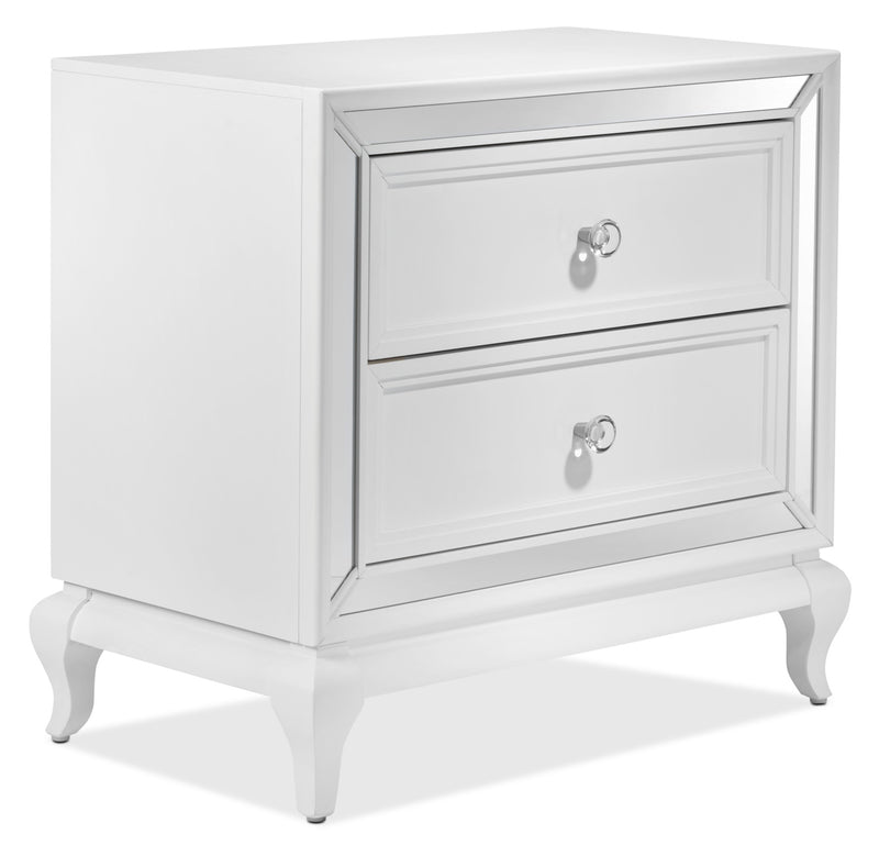Augusta Night Table - White