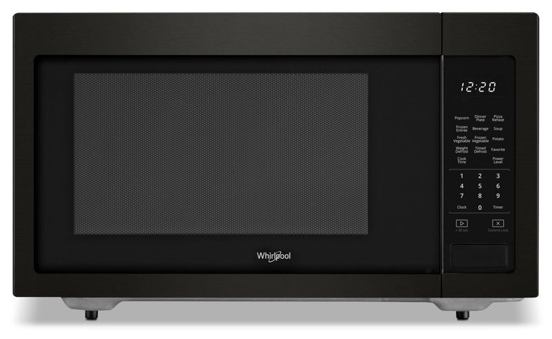 Whirlpool 1.6 cu ft, 21.75 in. Countertop Microwave, 1100 Watts-YWMC30516HV