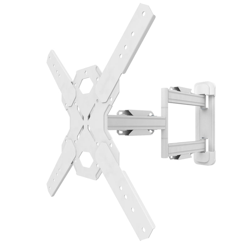 "Full Motion Single Stud TV Wall Mount with 22"" Extension for 26"" to 60"" TVs - PS300W"