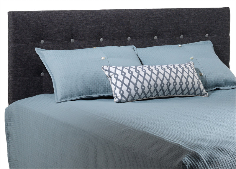 Horizon Queen Headboard - Charcoal