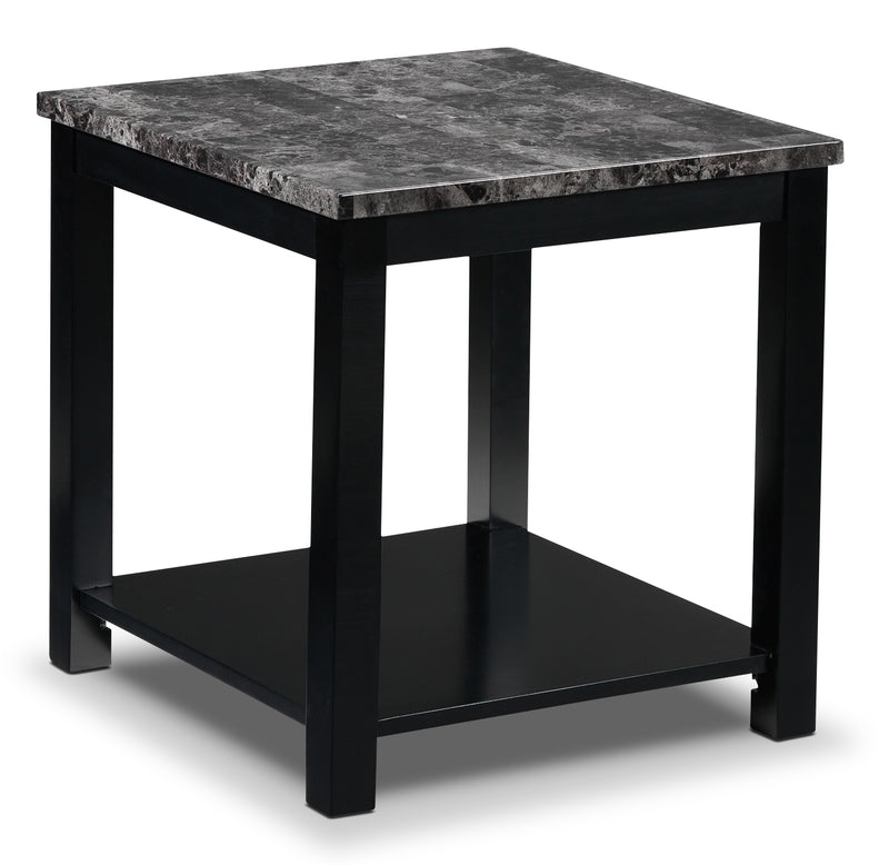 Amalia End Table - Black