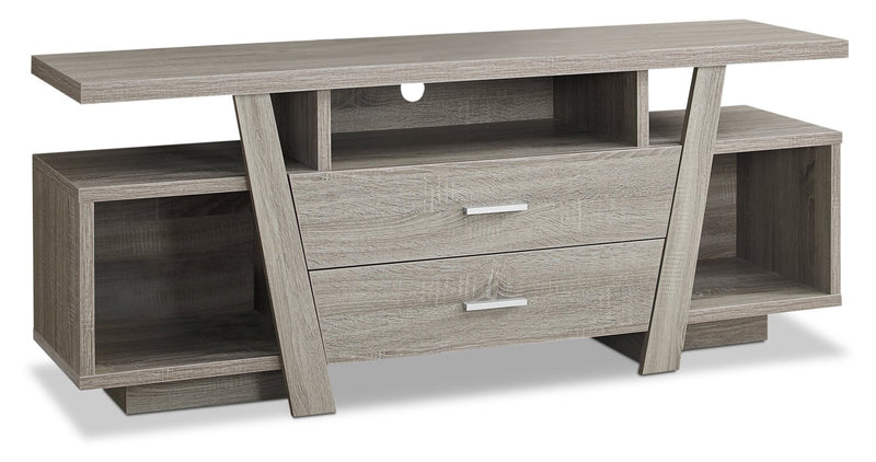 "Sybill 60"" TV Stand - Dark Taupe"