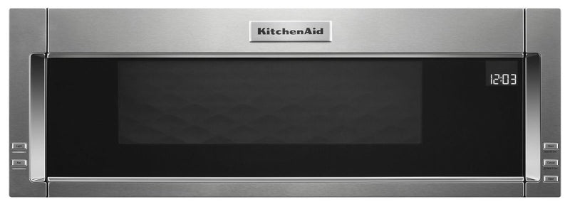 KitchenAid 1.1 Cu. Ft. Low-Profile Microwave Hood Combination – YKMLS311HSS