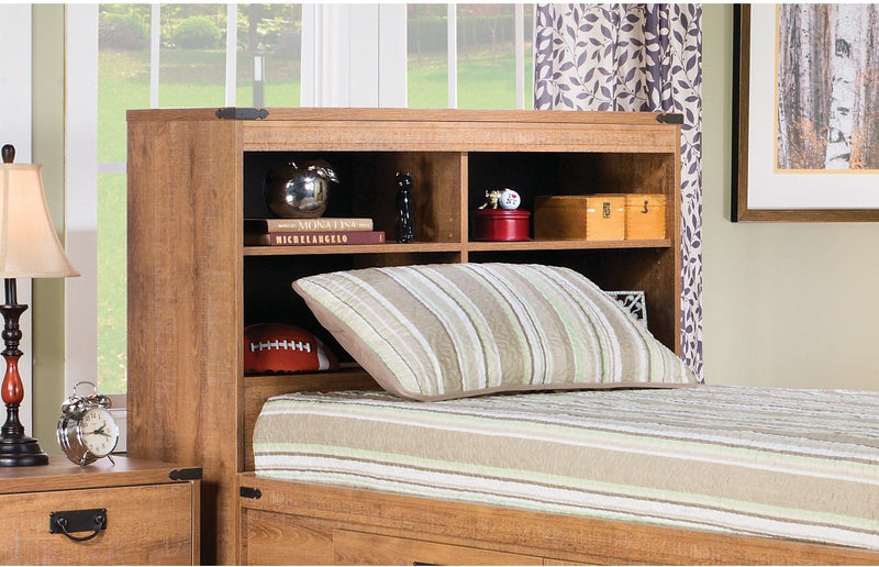 Fleetwood Twin Bookcase Headboard