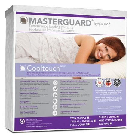 Masterguard® CoolTouch™ Full Mattress Pad