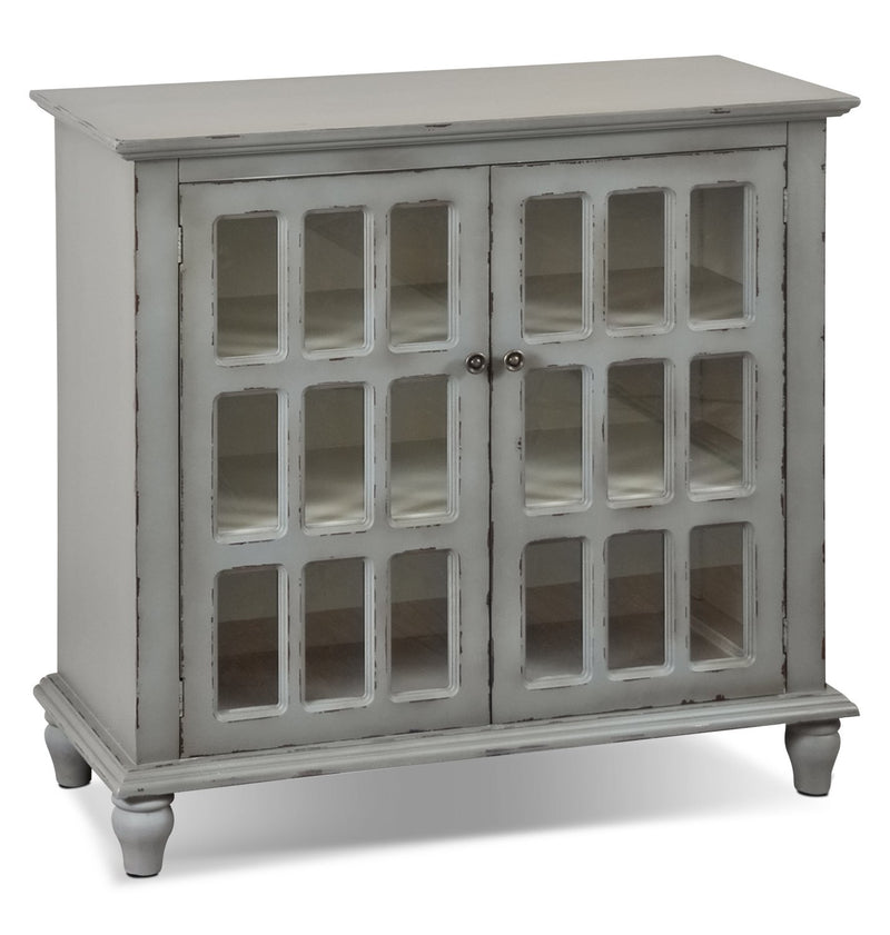 Janne Accent Cabinet - Antique Grey
