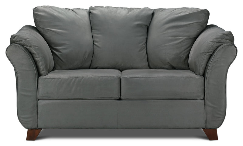 Breton Loveseat - Dark Grey