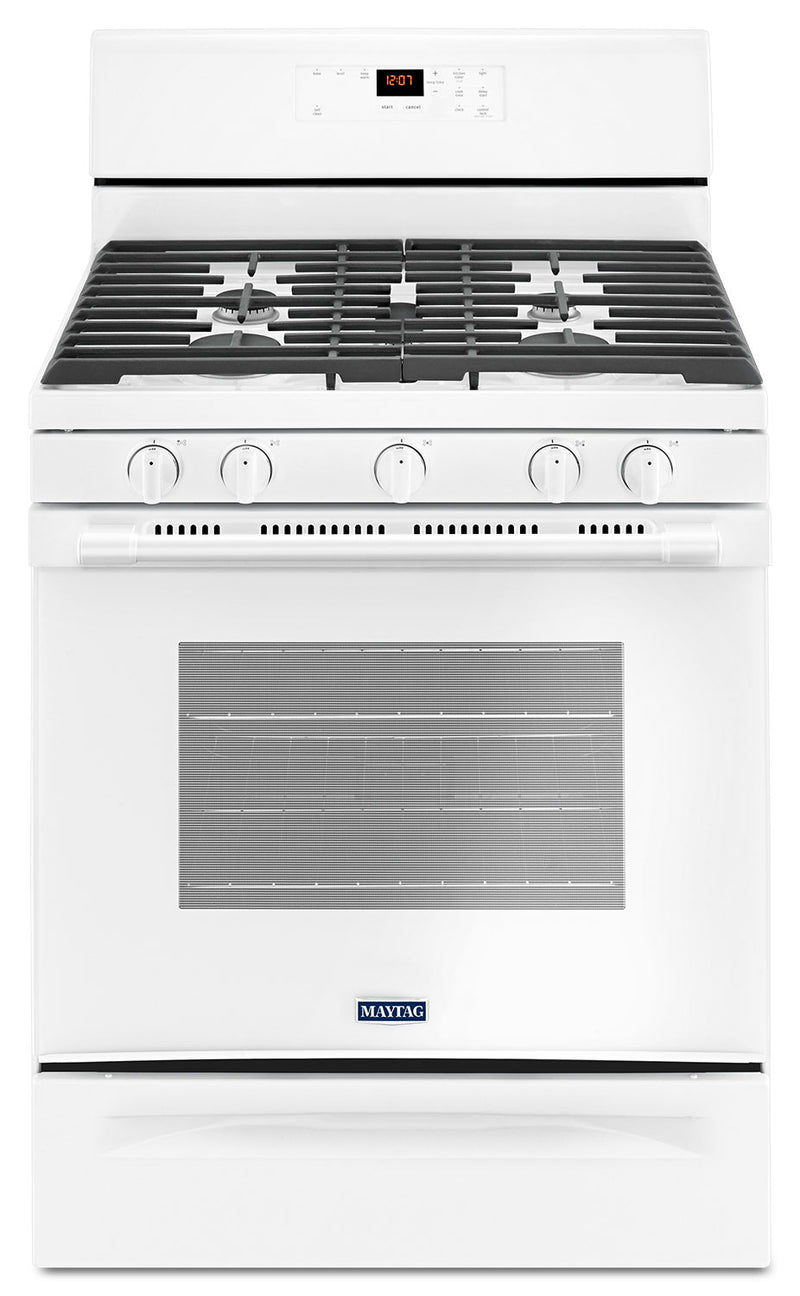 Maytag 5.0 Cu. Ft. Freestanding Gas Range with Oval Burner - MGR6600FW