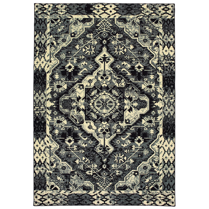 "Ledger W5603KL Tribal Area Rug (3'10""X5'5"")"