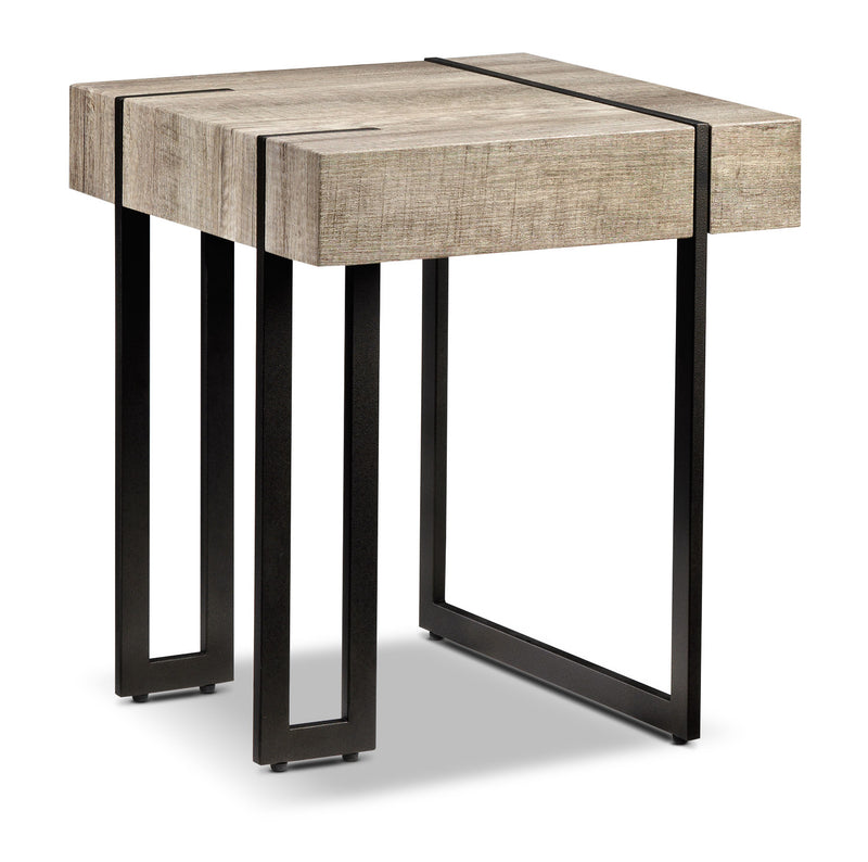 Ruan End Table - Beige