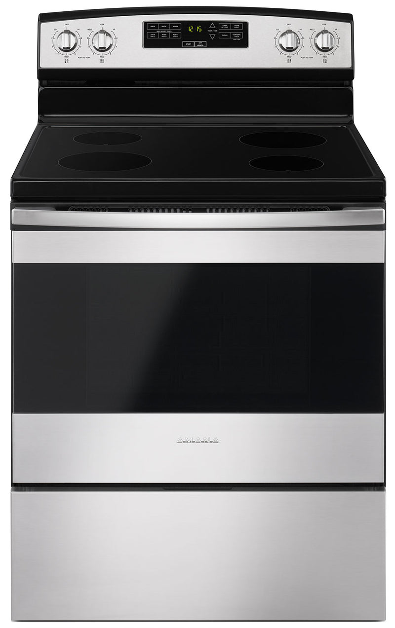 Amana 4.8 Cu. Ft. Freestanding Electric Range - YAER6303MFS