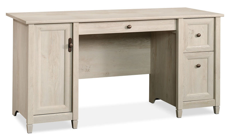 Kidderminster Computer Desk - Chalked Chestnut
