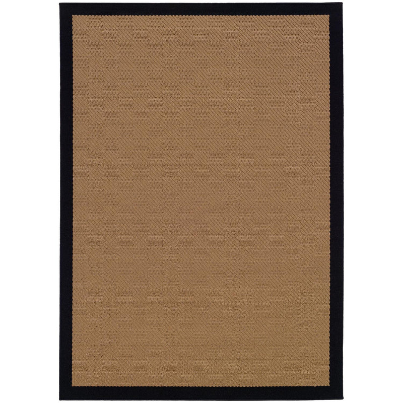 "Lytton W525X5L Border Indoor/Outdoor Area Rug (3'7""X5'6"")"