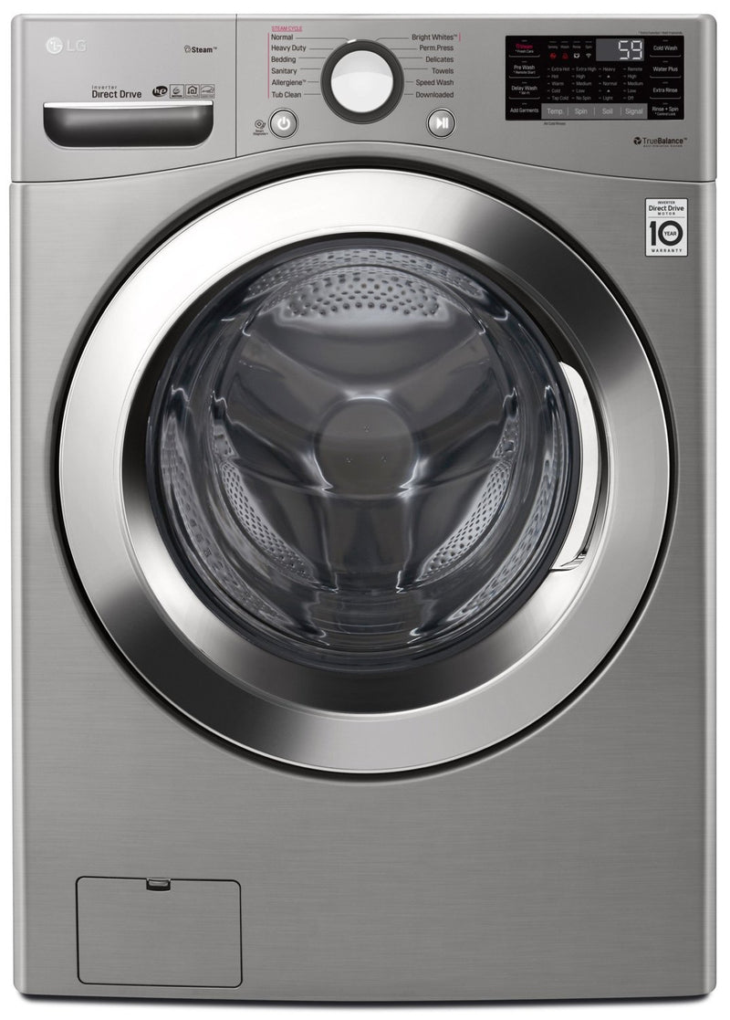 LG 5.2 Cu. Ft. Smart Wi-Fi Enabled Ultra-Large Front-Load Washer - WM3700HVA