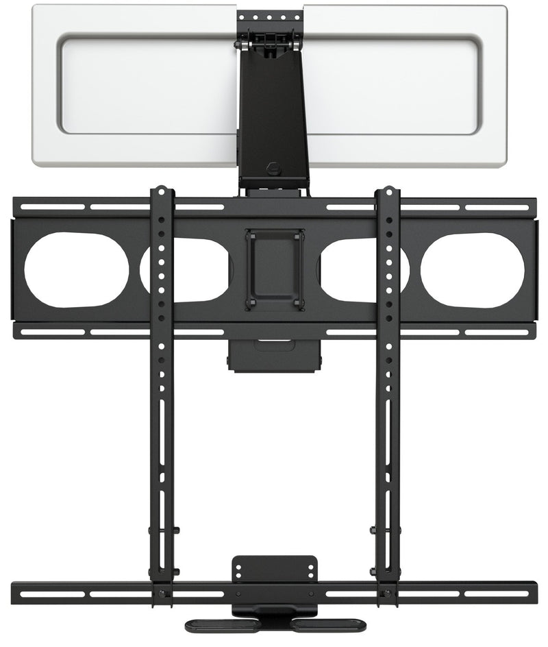 MantelMount MM540 Enhanced Pull-Down TV Wall Mount with Soundbar Attachment