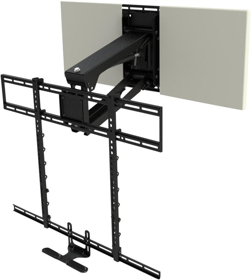 MantelMount MM700 Pro Pull-Down TV Wall Mount with Soundbar Attachment
