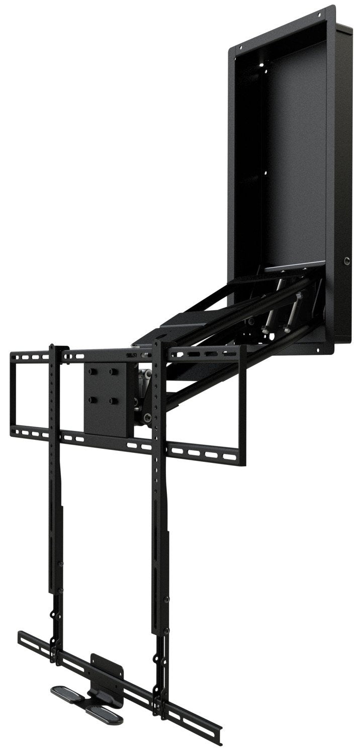MantelMount MM750 Pro Pull-Down TV Wall Mount with Soundbar Attachment