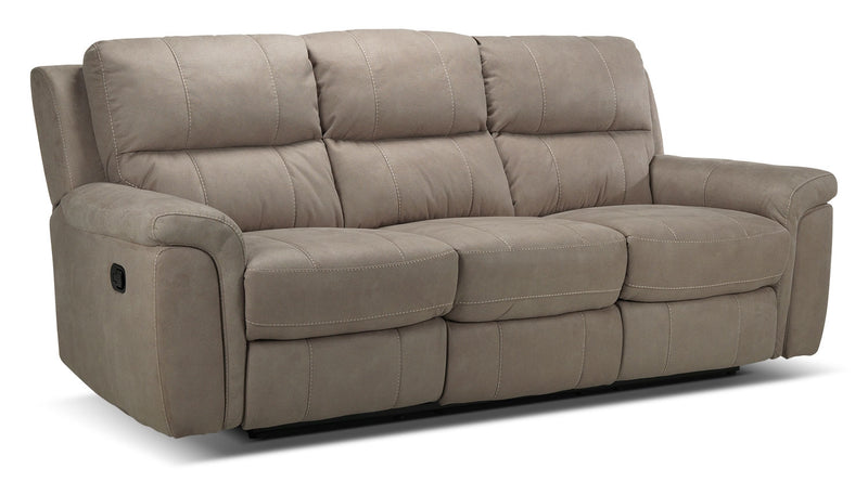Newbury Reclining Sofa - Silver Grey