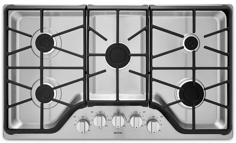 Maytag Stainless Steel Gas Cooktop - MGC7536DS