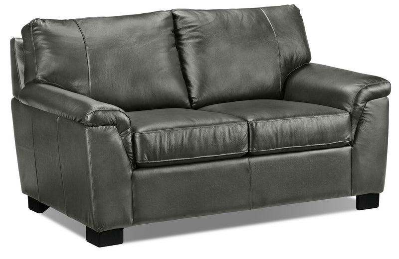 Campbell Loveseat - Dark Grey
