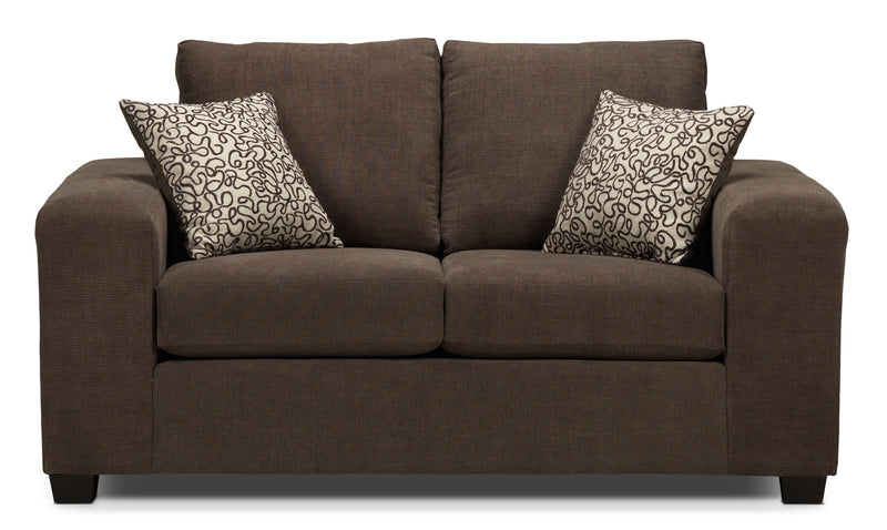 Knox Loveseat - Light Brown