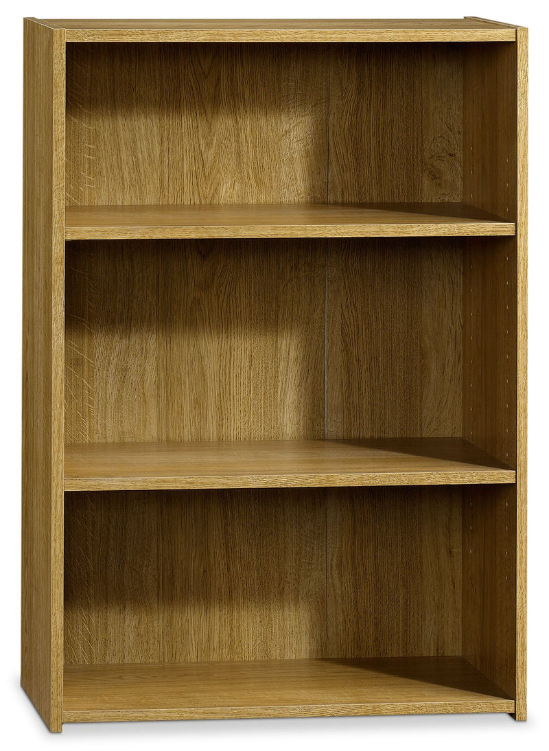 Currow 2-Shelf Bookcase - Highland Oak
