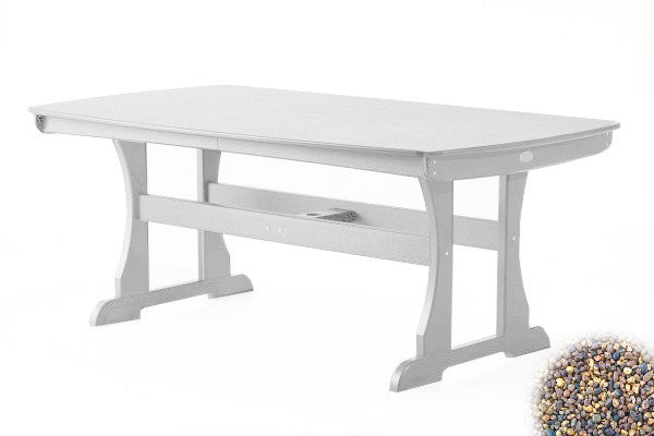 Caribbean Shores Dining Table - White