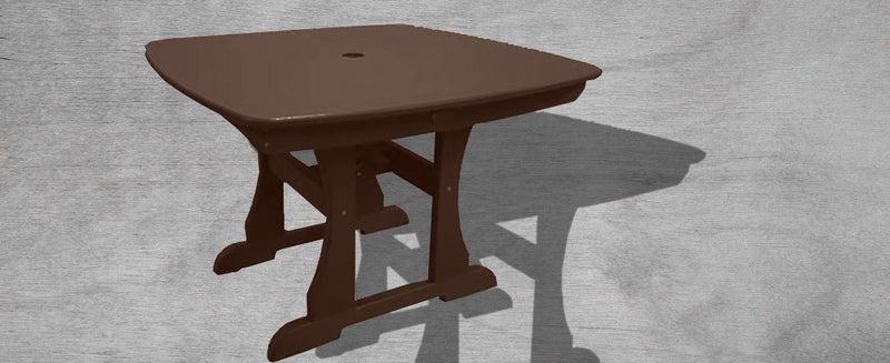 Table for Four Dining Table - Mocha