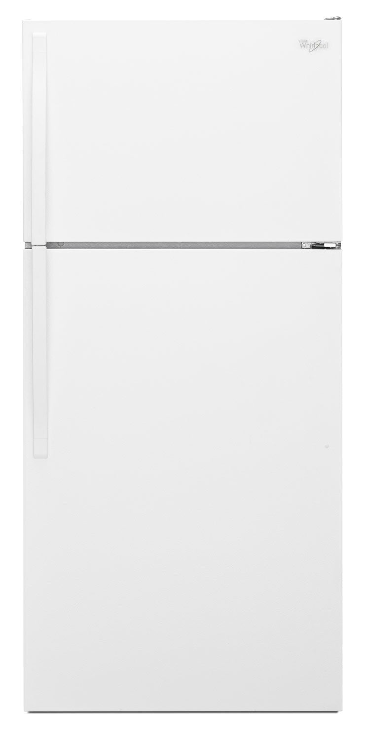 Whirlpool 14 Cu. Ft. Top-Freezer Refrigerator – WRT134TFDW