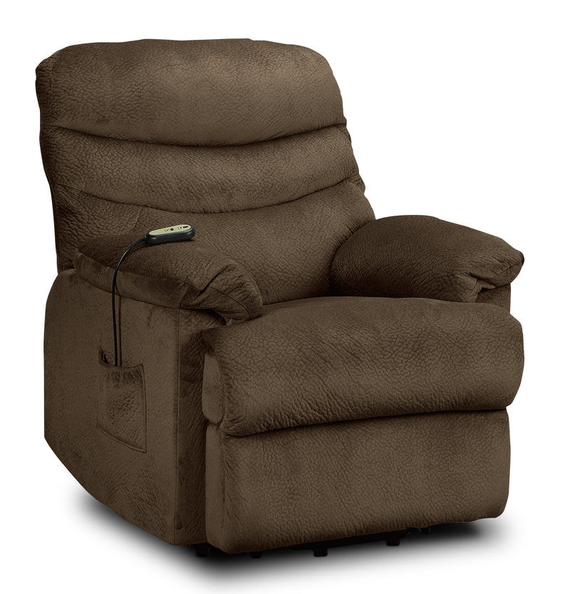 Duke Power Lift Recliner - Mocha