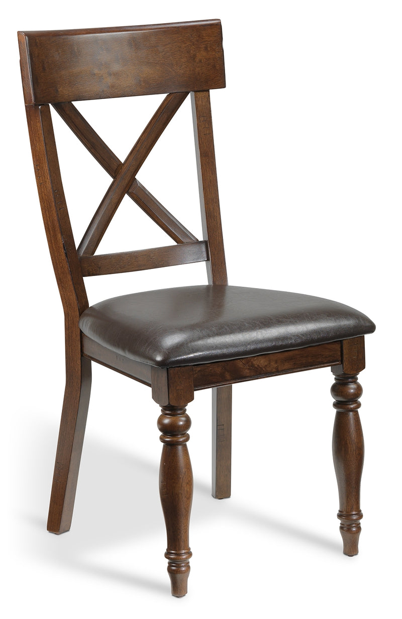 Cora Side Chair - Chocolate