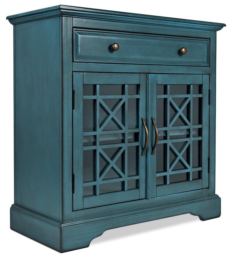 Marseille Accent Cabinet – Blue