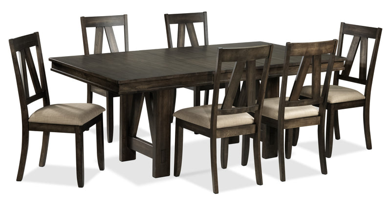 Esther 7-Piece Dining Room Set - Espresso